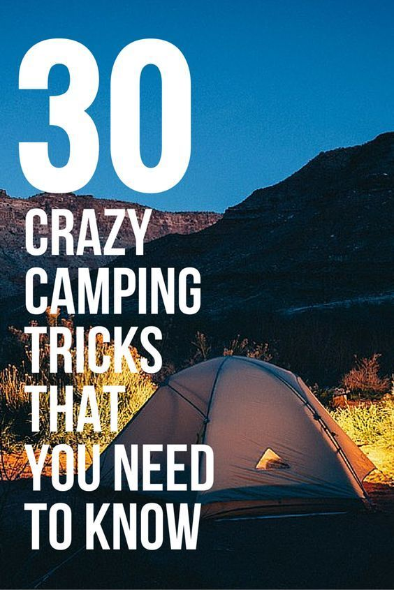 Photo of 30 crazy camping tricks that will make your life easier