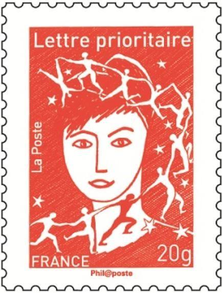 philat lie nouveau timbre poste marianne 2013 projets la marianne de luquet la poste dr. Black Bedroom Furniture Sets. Home Design Ideas