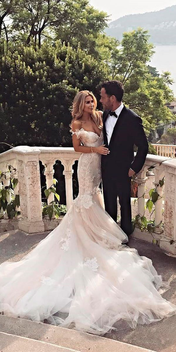 Photo of 30 Romantic Off The Shoulder Wedding Dresses ❤️ lace mermaid off the shoulde… Check more at…
