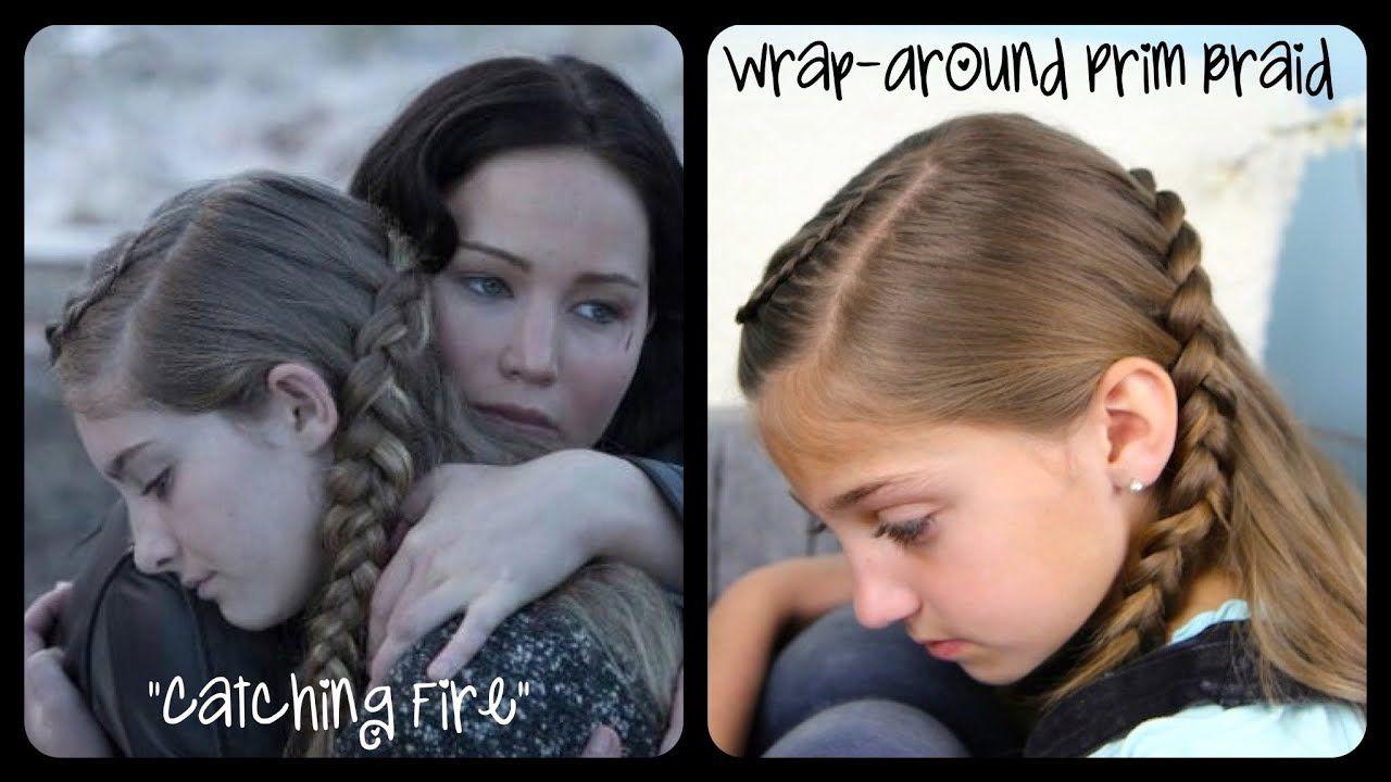 Wrap-Around Prim Braid   Catching Fire   Hunger Games Hairstyles