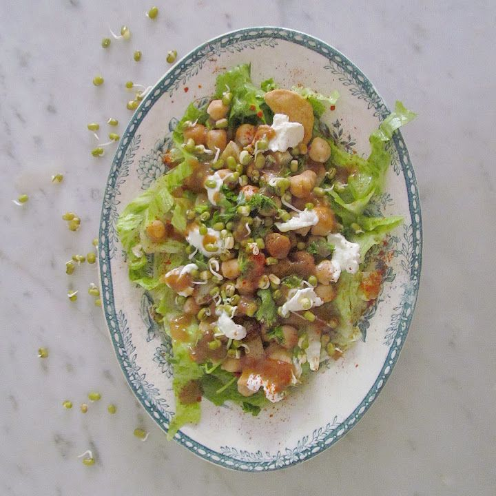 Papri Chaat or Indian nachos med Divya Jagasia - The waves we make