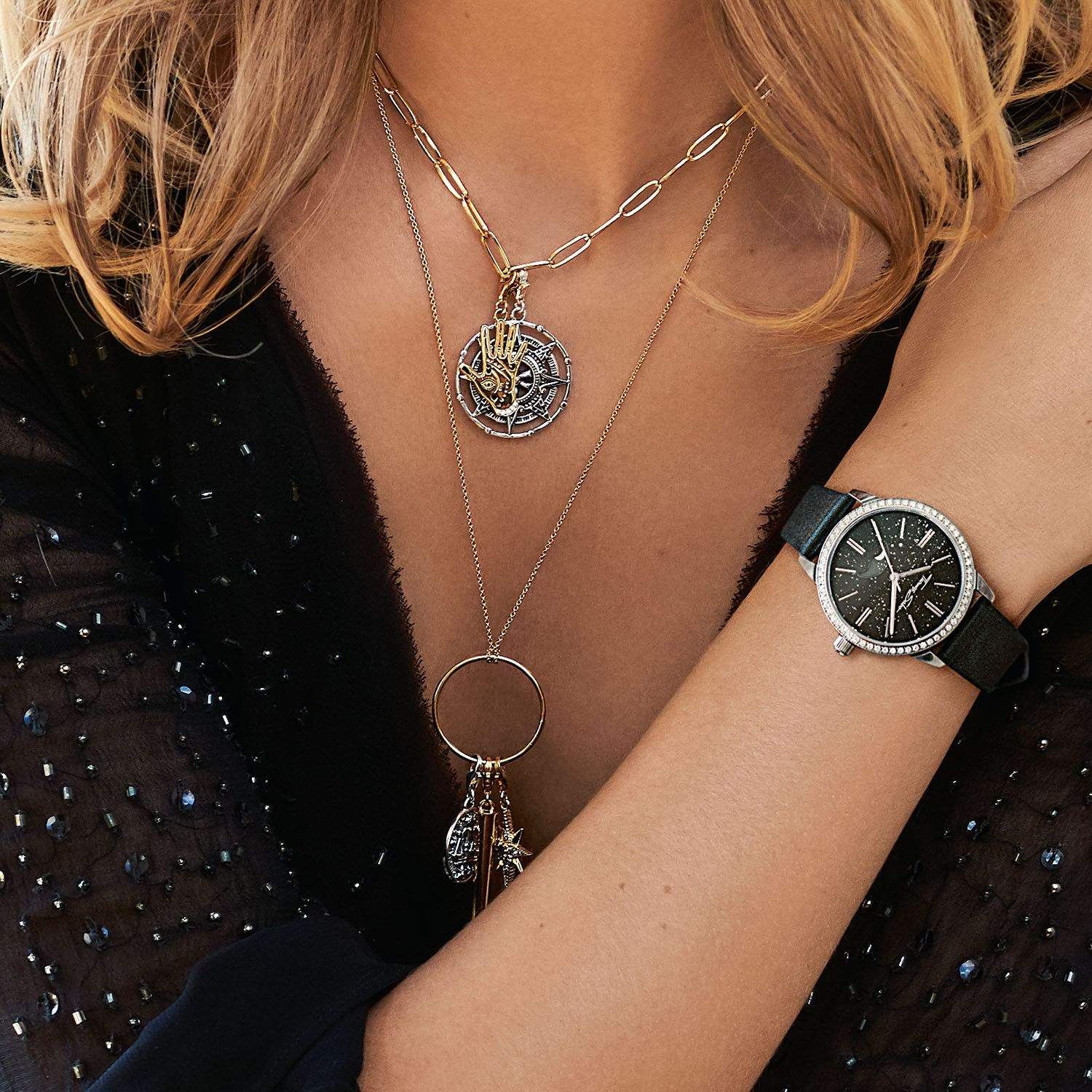 Our Life Is Influenced By The Moon Thomas Sabo Charms Spiritual Jewelry Sparkle Jewelry