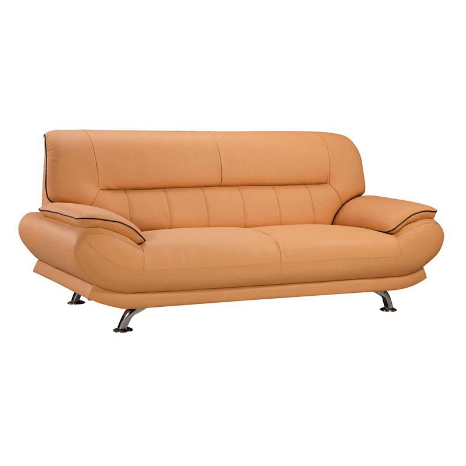 American Eagle Furniture Georgiana Leather Beige: American Eagle Furniture Arcadia Sofa Yellow In 2019