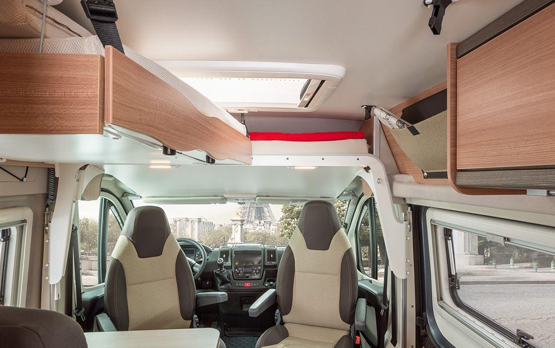 gro e betten im knaus kastenwagen boxstar autos. Black Bedroom Furniture Sets. Home Design Ideas