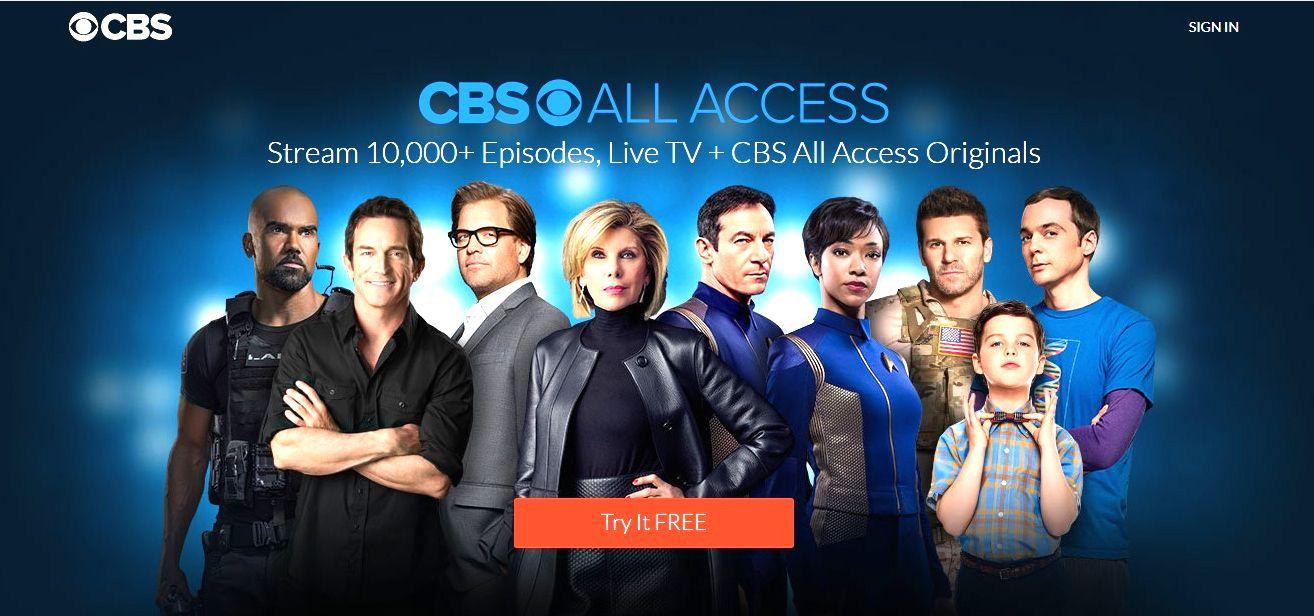 Stream Live TV Shows, Sports, News and Originals CBS All