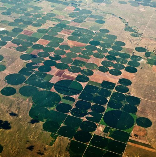 [Midwest, USA on a flight from JFK to LAX] #travel
