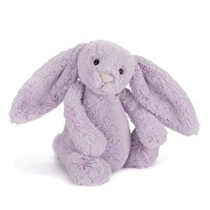 Super-cuddly and full of flopsiness, Bashful Hyacinth Bunny is a great cotside companion. Amazingly soft and always ready to snuggle, he's a lop-eared sweetheart who's perfect for beddybyes.  Exclusive for Christmas, available while stocks last