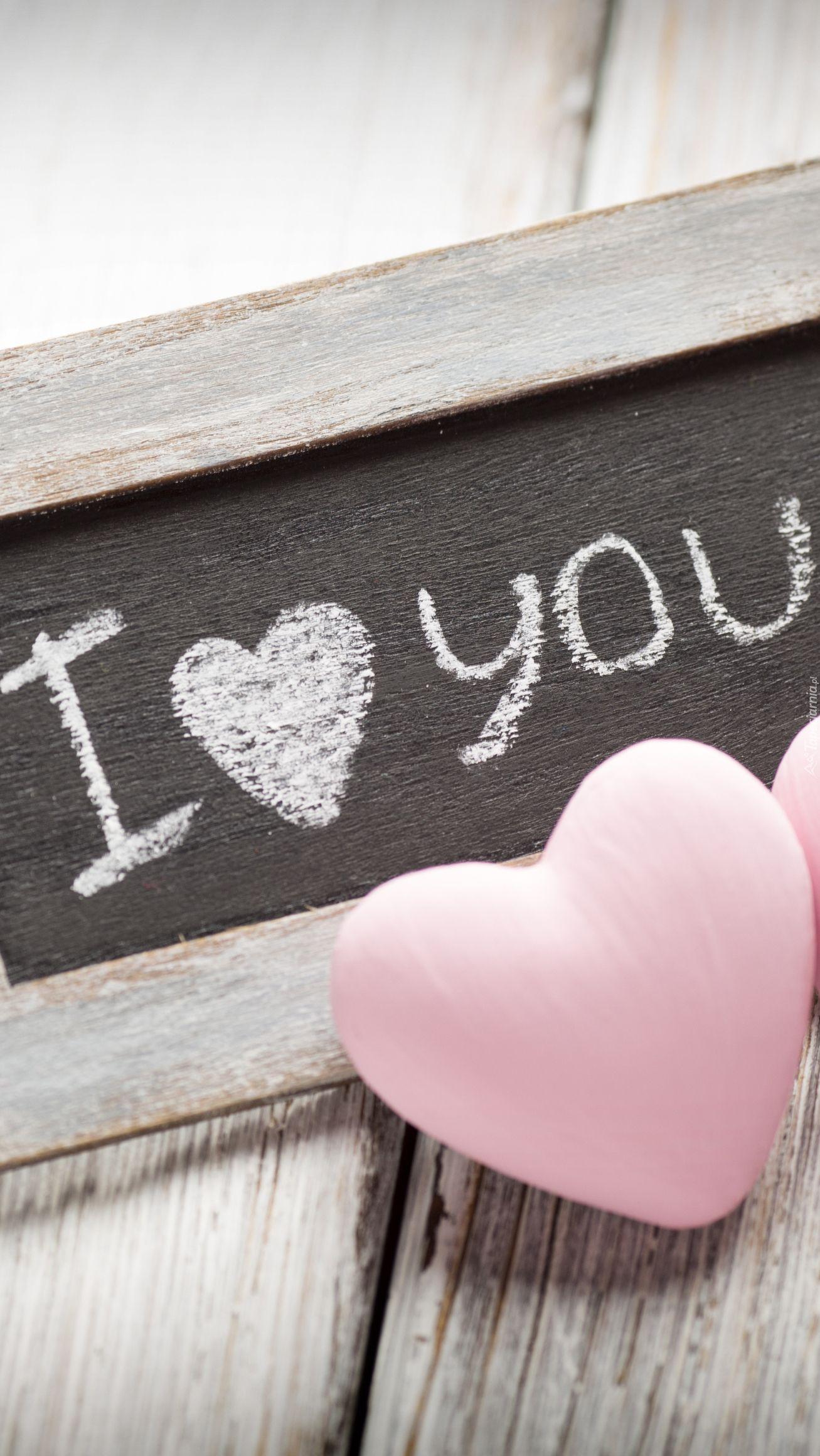 Tapeta Na Telefon Tabliczka Z Miłosnym Napisem Dodana Do Kategorii Miłosne Oraz Do Podkategorii Inne Dodan Love Wallpaper Heart Wallpaper Iphone Wallpaper Sky