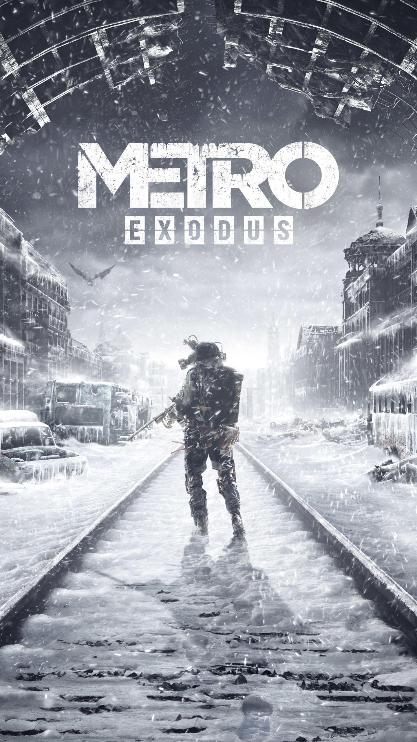 Metro Exodus Iphone Wallpaper In 2019 Metro Last Light