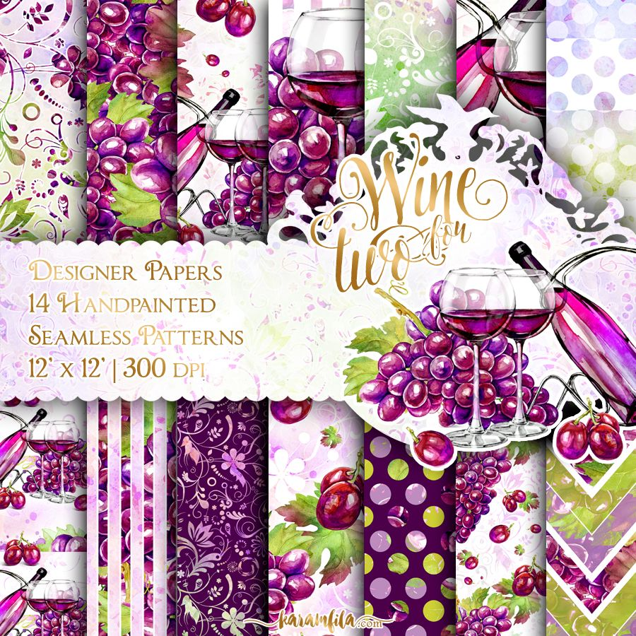 Win For Two Paper Pack 12x12 Digital Paper Pack Pinterest