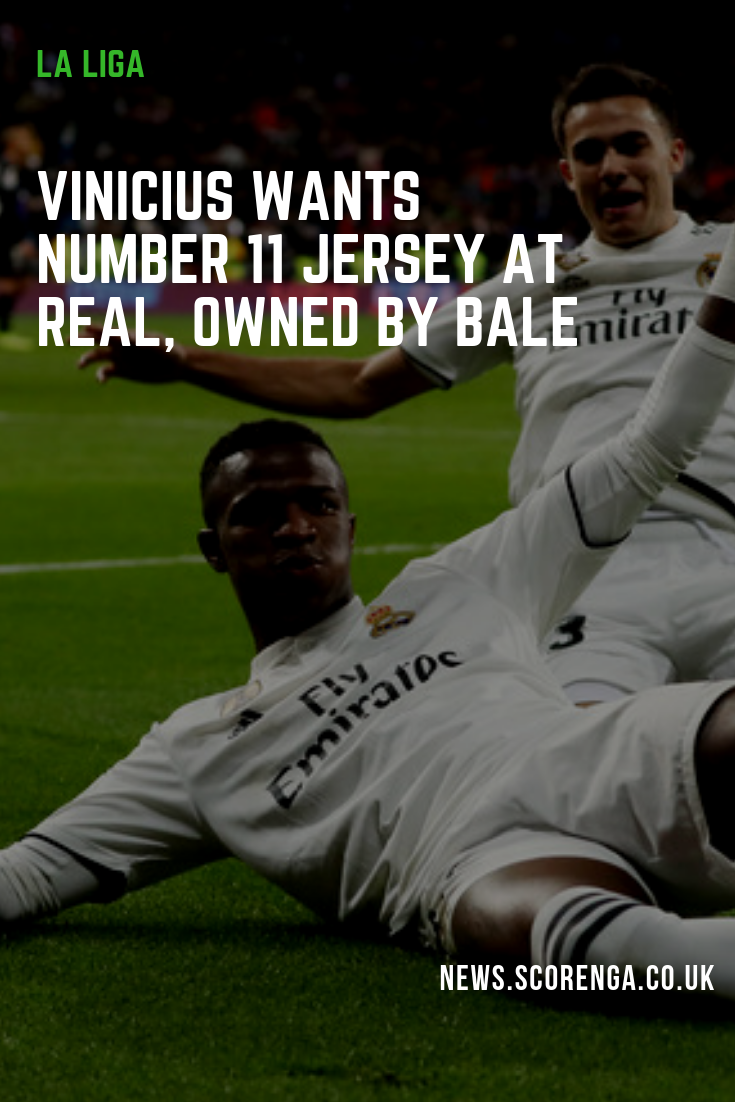 buy popular d48ba dc6db The Brazilian plans to change his squad number. Real Madrid ...