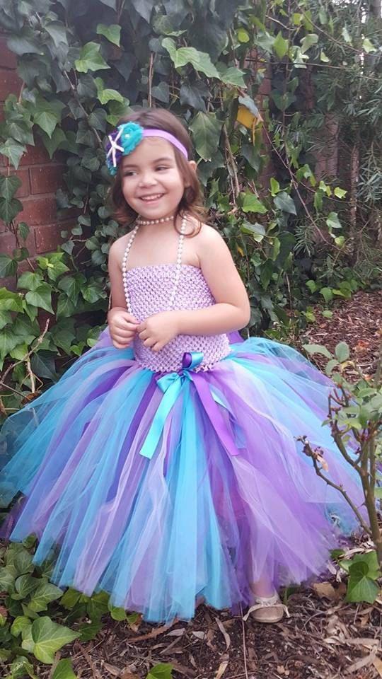 8306a1e95 USA birthday evening prom cloth purple tutu tulle baby bridesmaid flower  girl wedding dress fluffy ball