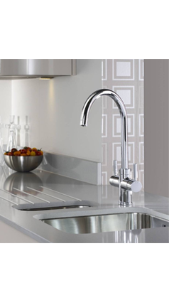 Abode Pronteau Prostream 3 In 1 Instant Hot Water Tap Chrome