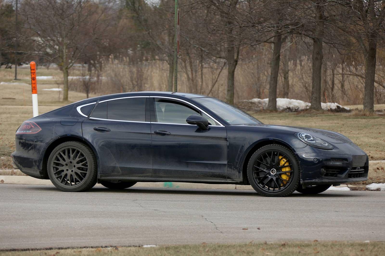 Porsche Panamera Sedan Gets Fresh Look And Upgraded Engine