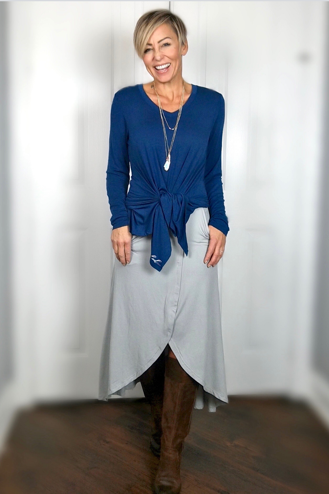 Is this love? We certainly think so. Our long sleeve, V-neck Solas top is made in a lightweight, luxurious Modal fabric. Loose-fitting tunic length with a handkerchief hem for a beautiful draped effect. Create your own bundle and SAVE up to 60%. Click HERE