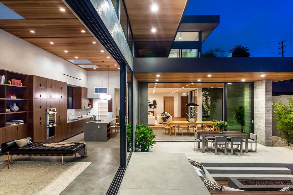 Lieblich Casa Moderna Palms Residence En Venice Beach, Los Ángeles