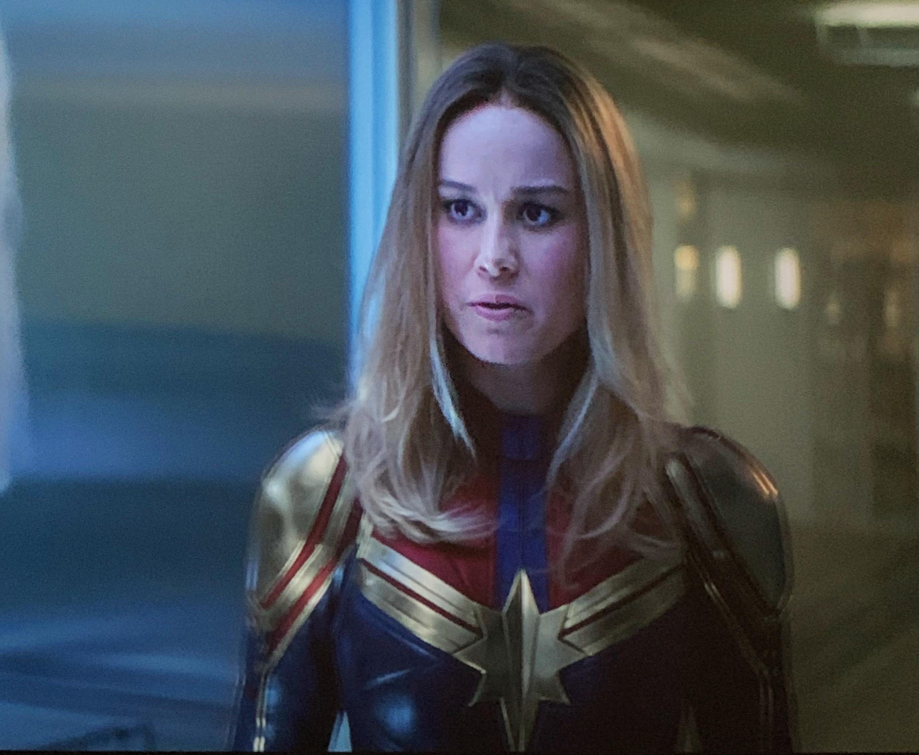 Captain Marvel In Endgame Better Captain Marvel Captain Marvel Carol Danvers Marvel Avengers Funny