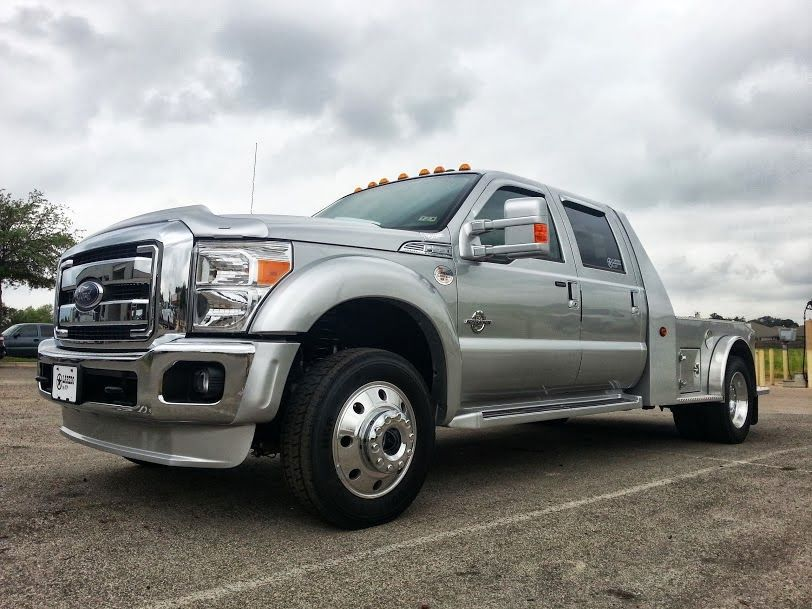 Custom Van With Truck Bed F250 F350 F450 F550 Chassis