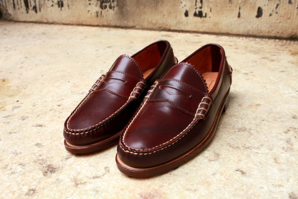 88dc805a997670 Rancourt   Co. penny loafer from Maine. Pretty timeless and looks like  they ll last decades.