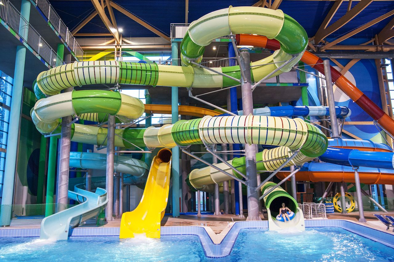 H2o Waterpark Rostov On Don Russia Black Hole Water