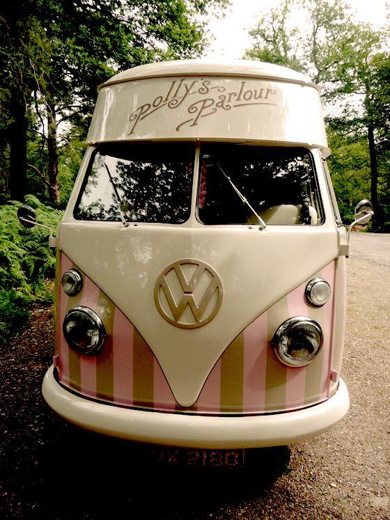 vw ice cream truck cool stuff pinterest volkswagen. Black Bedroom Furniture Sets. Home Design Ideas