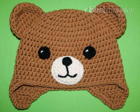 Diese Teddy Mütze Häkeln Sogar Anfänger In Jeder Beliebigen Größe