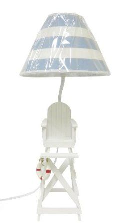 Beach Theme Table Lamps Home Kitchen Home Decor Kids Room Decor