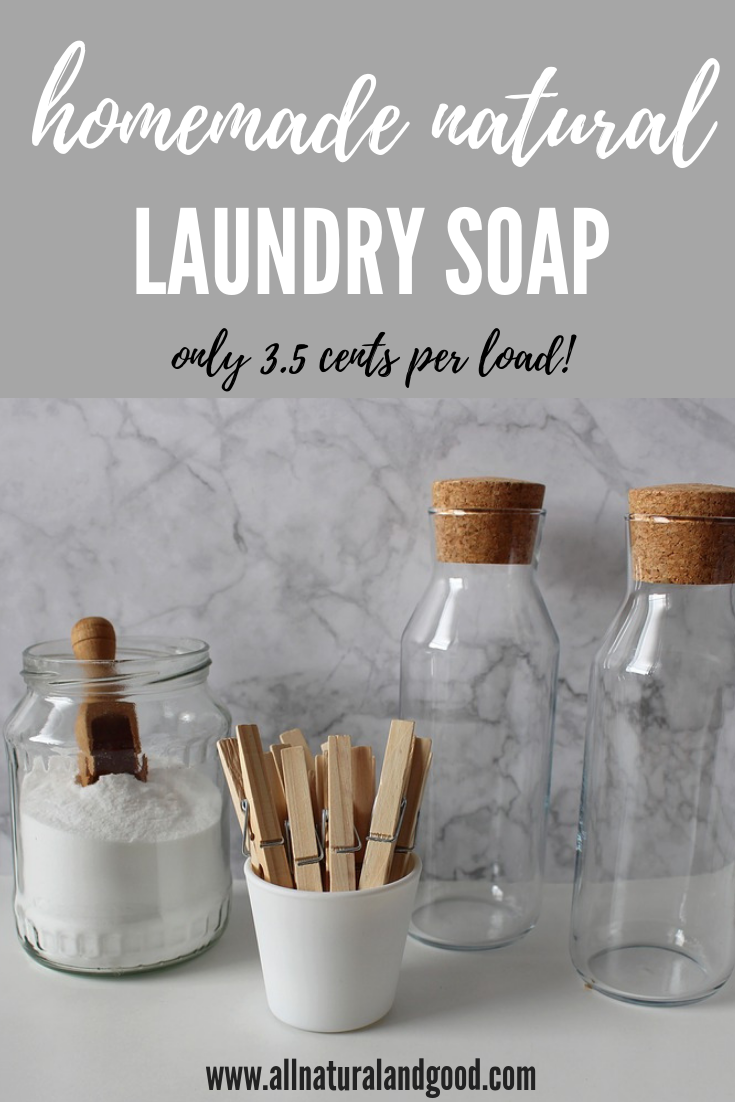 Cheap Homemade Laundry Soap Homemade Detergent Natural Laundry