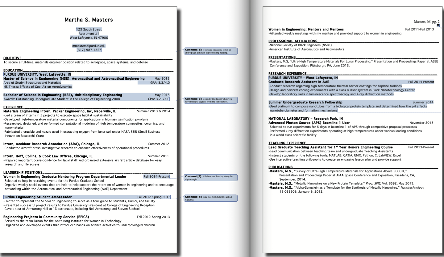 This Examples Purdue CCO Resume Samples. We will give you a refence start  on building resume. you can optimized this example resume on creating resume  for ...