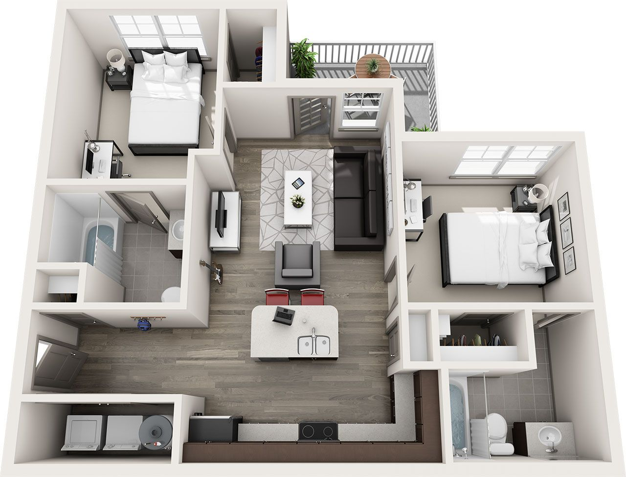 The Lodge Student Housing Allendale Michigan Floor Plans Sims House Design House Layout Plans Sims House