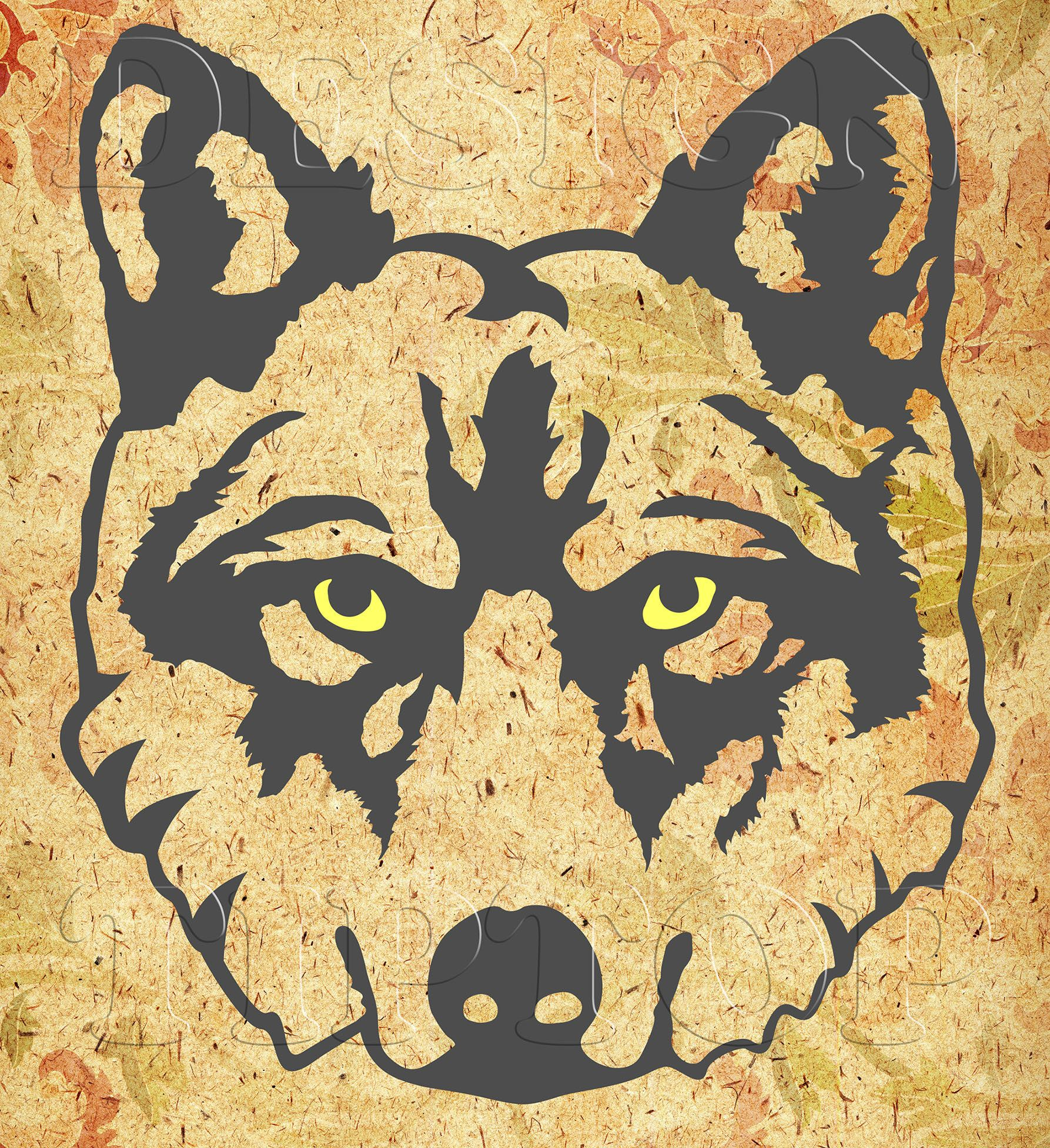 Wolf SVG, print and cut, wild animal svg, embroidery designs, wolf t ...