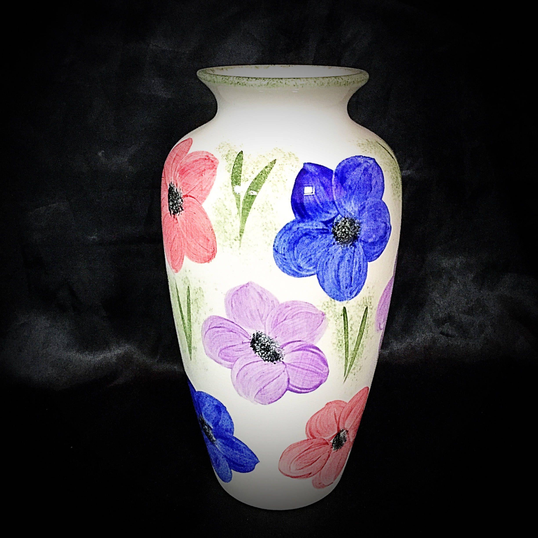 A beautiful english poole pottery flower vase by a beautiful english poole pottery flower vase by uniquepotteryshop reviewsmspy