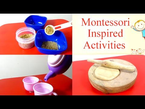 We Have Amruta Ram Talking About Some Montessori Inspired Educational Toddler Activities Preschoolers Toddlers And Kids Everybody Is Well Aware Of
