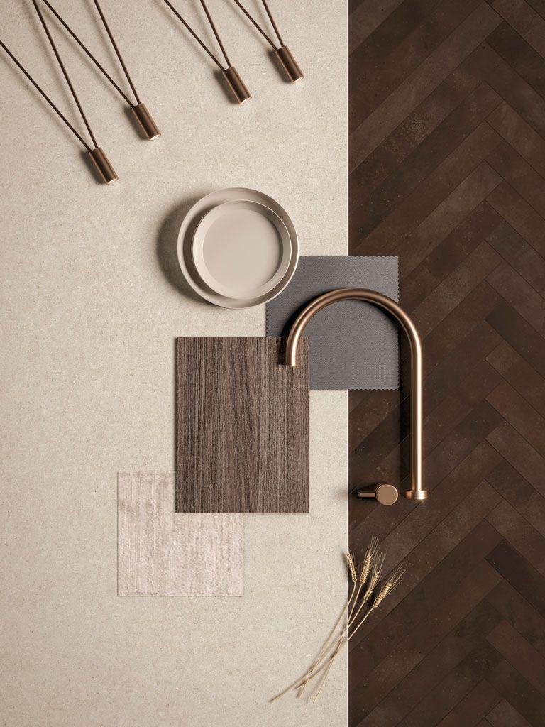 Kone Gypsum By Atlas Plan Materials Board Interior Design Mood Board Interior Interior Design Mood Board