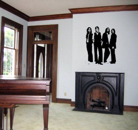 The Beatles Wall Decal Decals Sticker : beatles wall decals - www.pureclipart.com