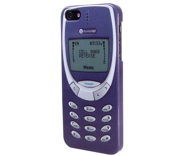 Funda que transforma tu iPhone en un Nokia de los 90