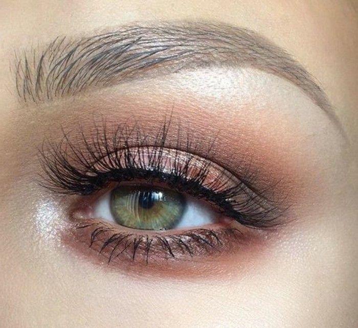Assez Comment maquiller les yeux verts? 50 astuces en photos et vidéos  UX35