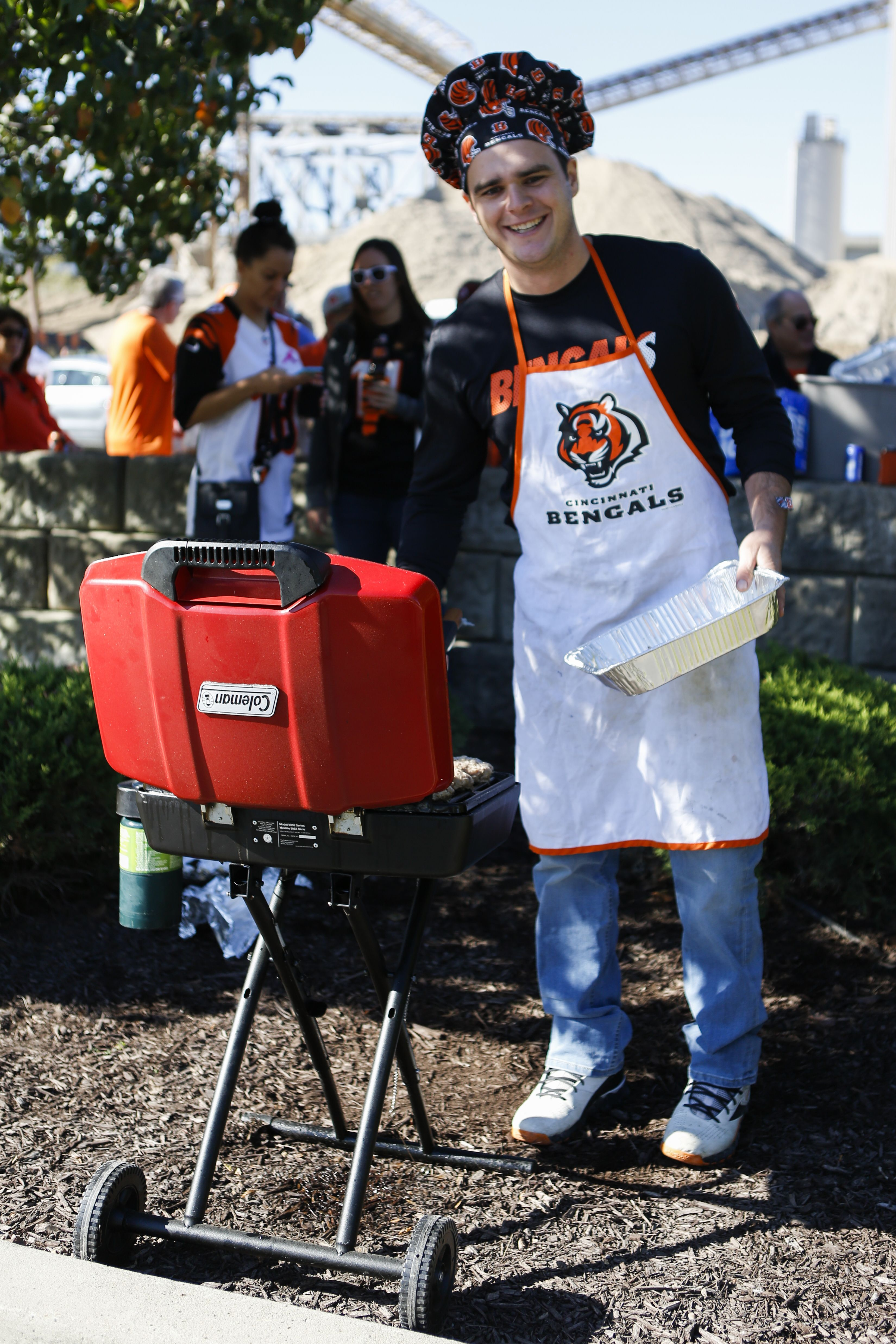 Your Week 7 Cincinnati bengals grill master ladies and