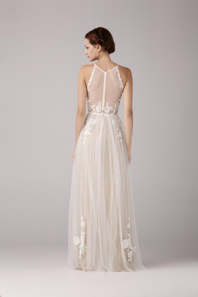 beed0bd1764bf Wedding dress Robe de mariée Anna Kara Corriander chez Plume Paris ...
