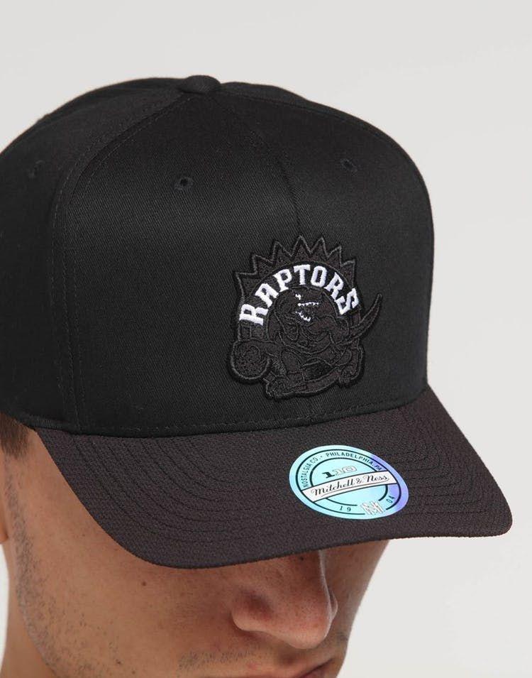 Toronto Raptors Mitchell /& Ness 110 Curved Snapback Cap