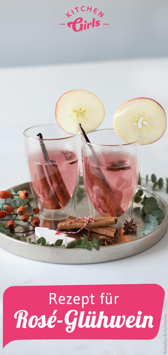 Rezept für Rosé-Glühwein schnell und einfach