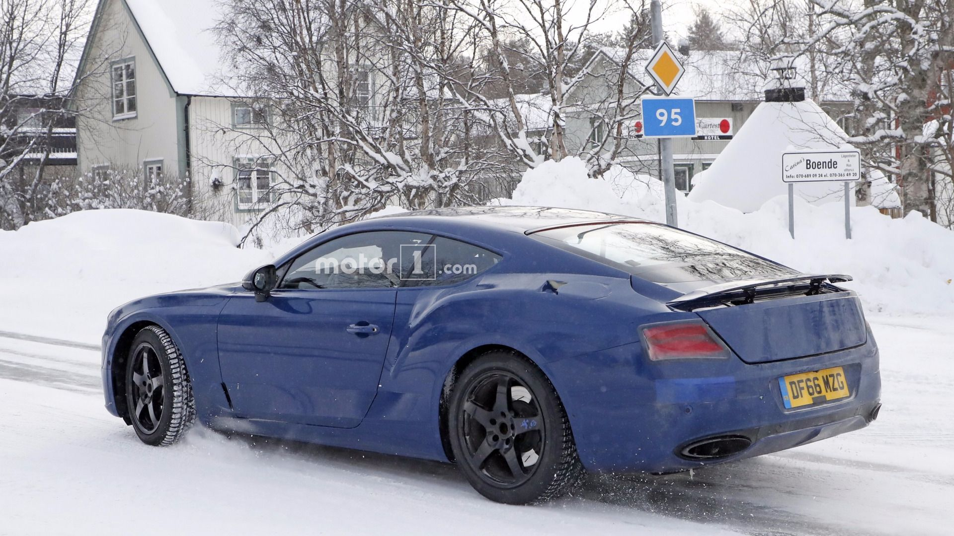 Spy Picture New Bentley Continental Gt Sport Cars