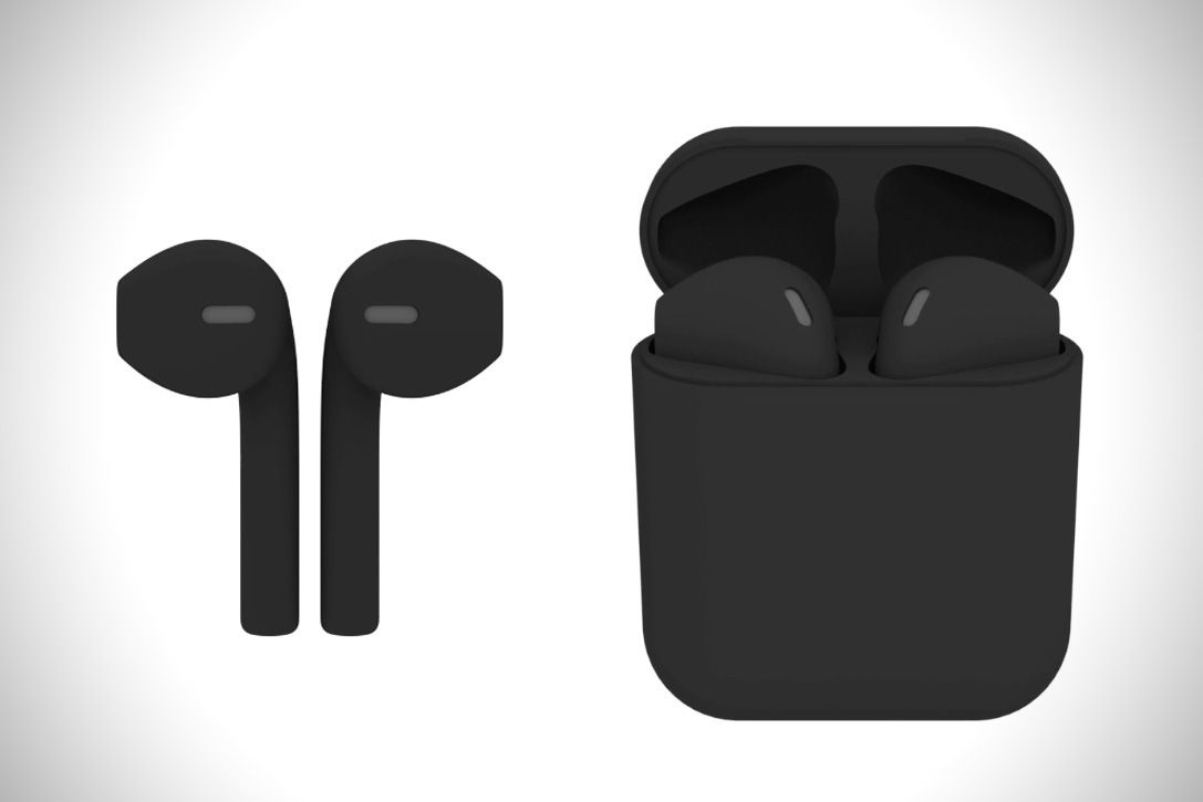 BlackPods Custom AirPods   HiConsumption   watches&gadgets