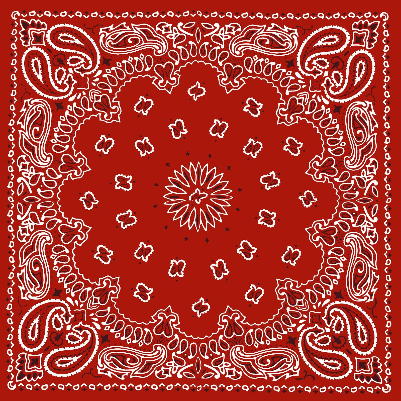 Red bandana printable background backgrounds for Print wallpaper designs