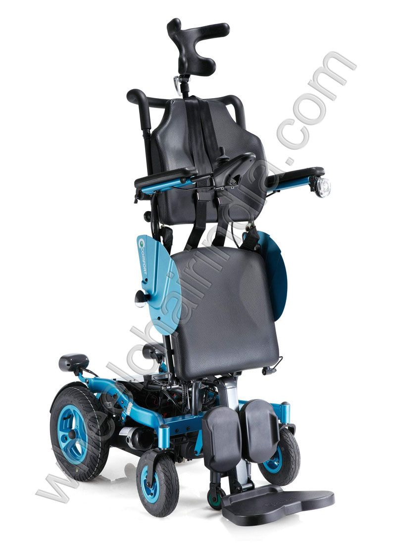 Wheelchair : Handicap Products: Full Motorized Power Standing ...