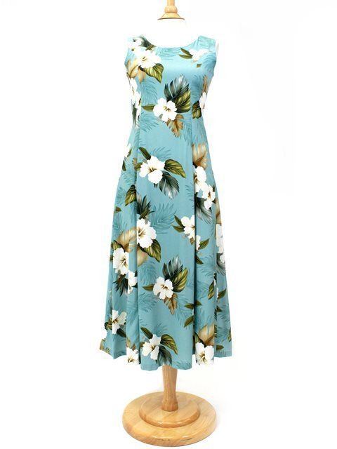 Hawaiian Print Long Dresses for Weddings