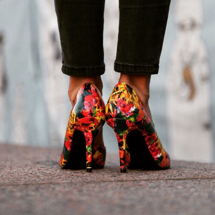 Got the Monday Blues? Brighten up the rest of your week with these colorful heels from Payless!
