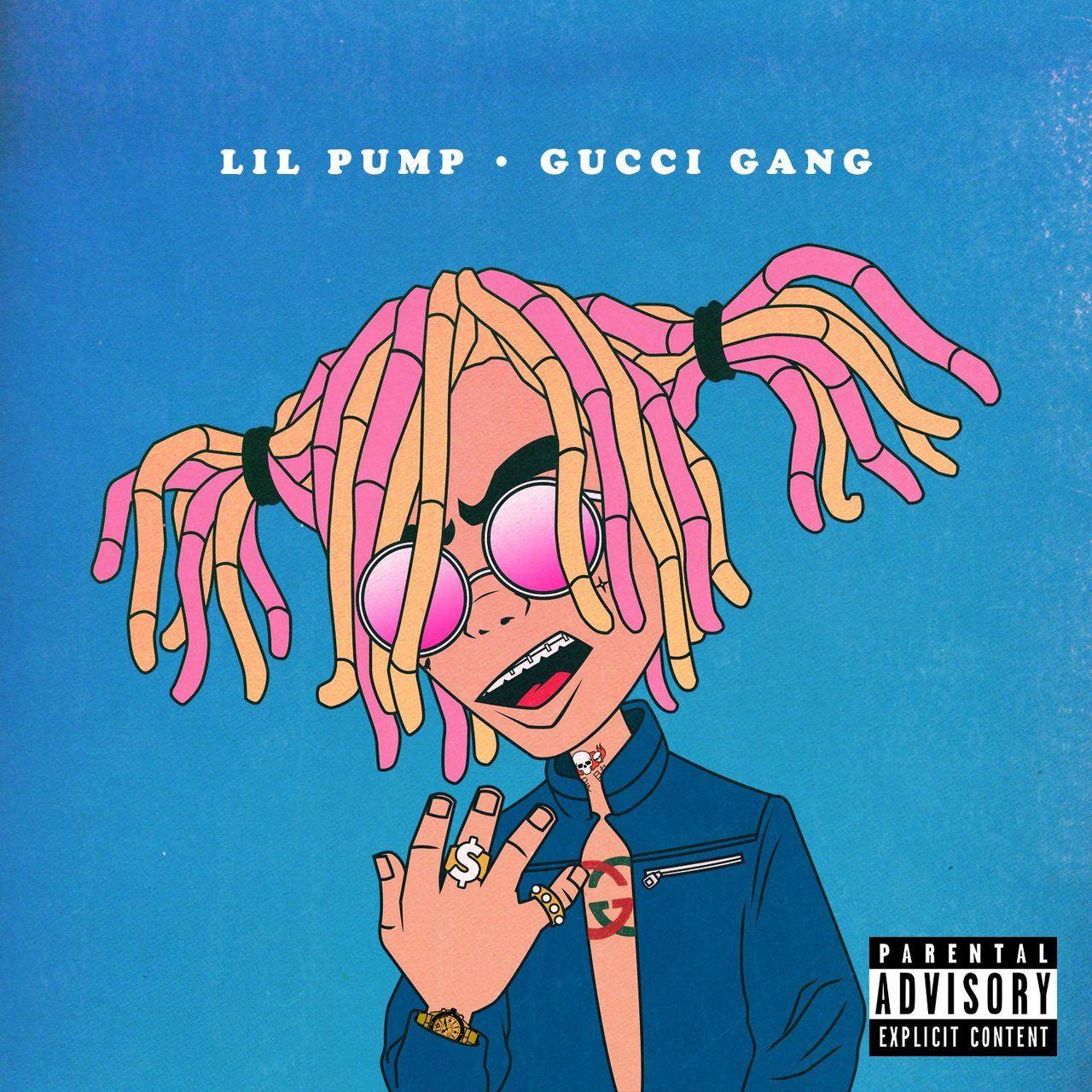 66f0594f5 Lil Pump TIDAL   Lil   Gucci, Gucci wallpaper y Fondos de pantalls