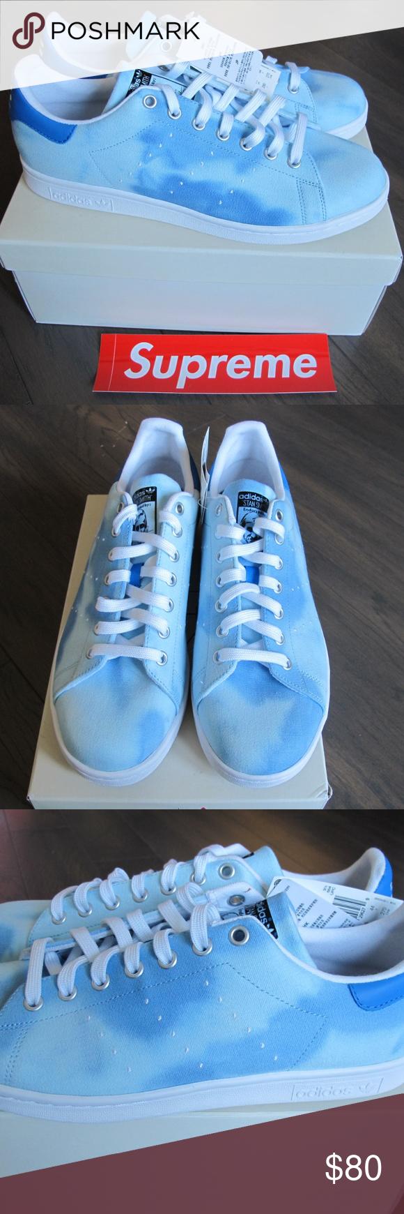 bf89071ee NEW BOX Adidas PW HU Holi Stan Smith Blue AC7045 Designed by Pharrell  Williams   Human