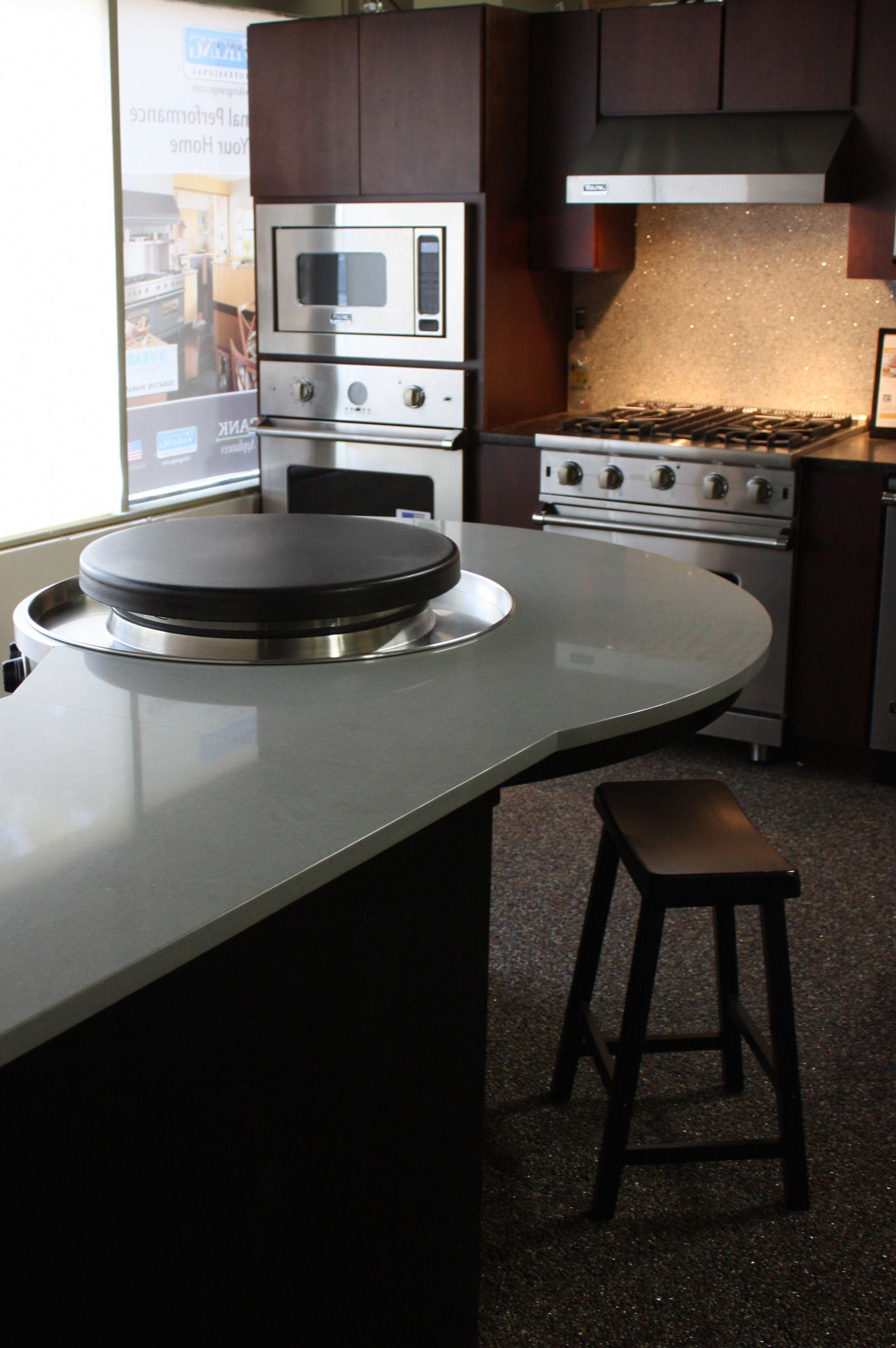 Evo builtin affinity circular cooktop at eastbank appliance in